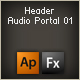 header audio portal 01 - ActiveDen Item for Sale