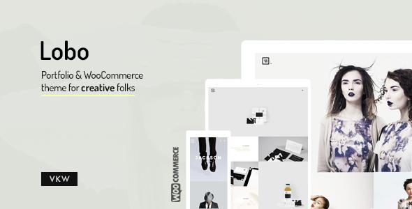 screenshot 00.  large preview - Lobo - Portfolio for Freelancers & Agencies