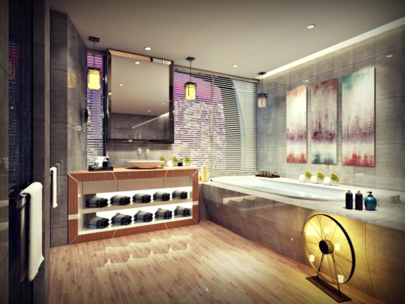 Bathroom Full Set No: 4 - 3DOcean Item for Sale