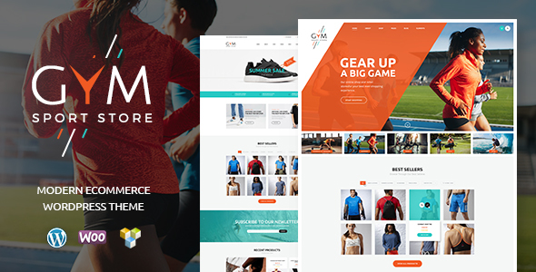 Download GYM | Sports Clothing & Equipment Store nulled download