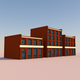Low Poly Buildings 003