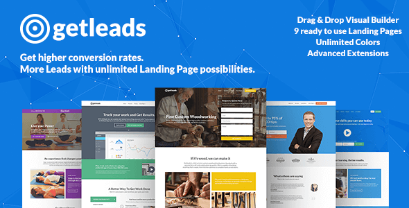Download Getleads  High-Performance Landing Page WordPress Theme nulled download