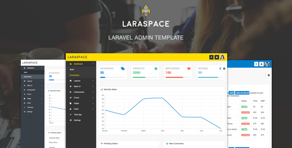 Laraspace Laravel Vuejs Admin Template Laravel Vuejscom
