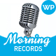 Morning Records - Sound Recording Studio WP Theme
