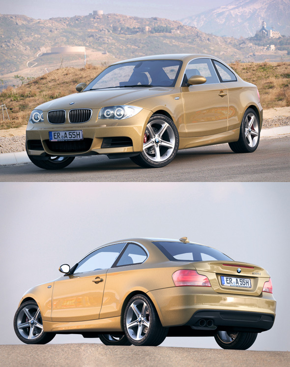 BMW 1 Series e82 135 coupe - 3DOcean Item for Sale