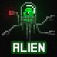 Pixel Alien Drone