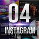 Multipurpose Instagram Banner 4 Designs
