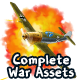 2D Complete War Assets Kit 2 of 2 - Airplanes, Tanks & more