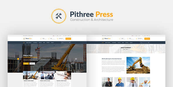 Download Pithree – Construction & Building WordPress Theme nulled download
