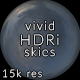 Vivid CG Skies Dusk 003 (15k resolution)