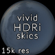 Vivid CG Skies Dusk 004 (15k resolution)