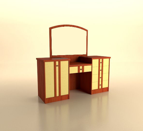 Low Poly Realistic Furniture - 3DOcean Item for Sale