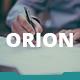 Orion Keynote Template