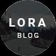 LORA - Clean & Personal WordPress Blog Theme