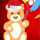 teddy with  Christmas gift - GraphicRiver Item for Sale