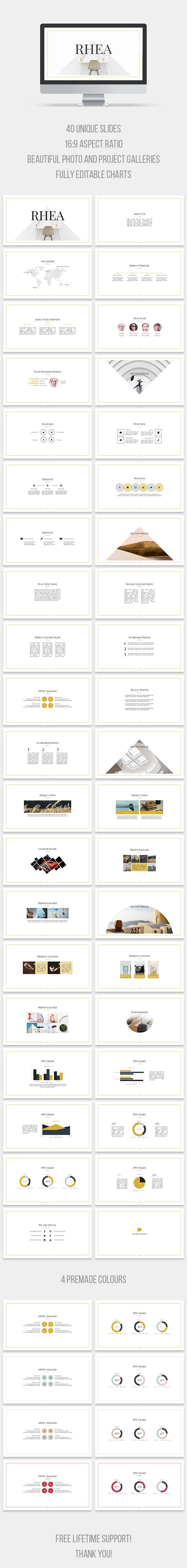 Rhea PowerPoint Template (PowerPoint Templates)