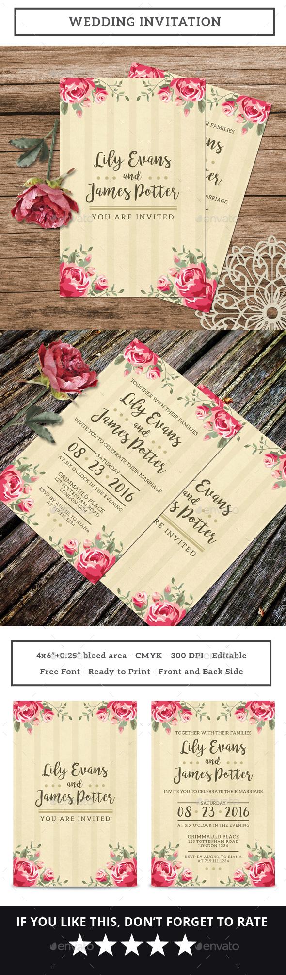 Wedding Invitation Vol.3