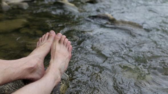 Download Man Feet Selfie nulled download