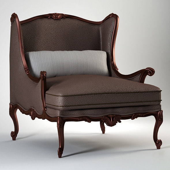 3DOcean High quality model of classic chair Chelini 1719737
