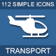 112 Transport & Logistic icons