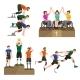 Disable Handicap Sport Games Stick Figure