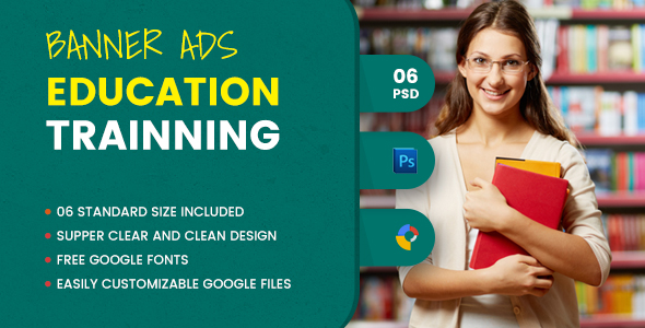 Education Banner HTML5 - GWD