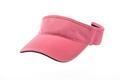 Men's pink golf visors