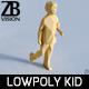 Lowpoly Kid 011