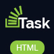 Task - Responsive HTML Business/Corporate Template