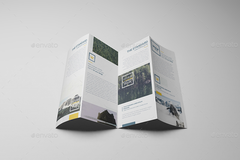 Top Result 62 Lovely 4 Fold Brochure Template Image 2018 Ksh4 2017