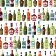 Alcohol Drinks Seamless Pattern.