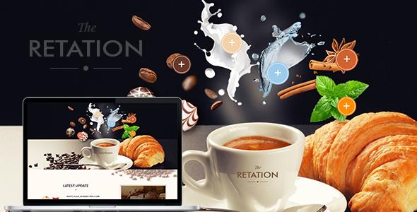 The Retation - Coffee, Bar and Bistr Template