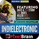 Indie Electronic Flyer Template Vol. 4