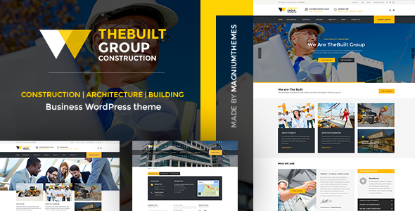 Download TheBuilt - Construction, Architecture & Building Business WordPress theme nulled download