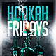 Hookah Shisha Bar Flyer Template