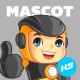 Robokid Mascot Cartoon Vector Illustration
