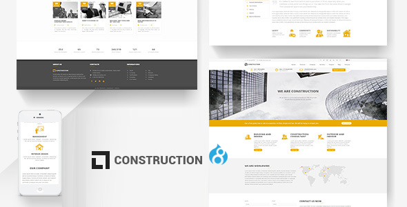 Construction - Building Drupal 8 Theme