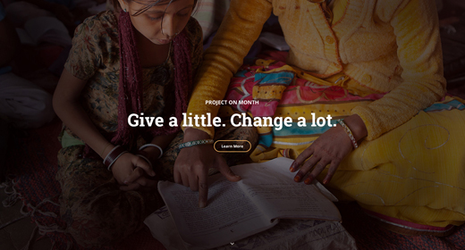 WordPress Donation theme