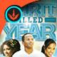 A Spirit Filled Year: Church Flyer Template