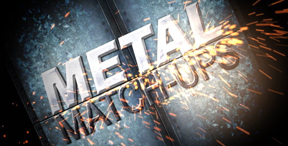 After Effects Project - VideoHive Metal Matchups 202813