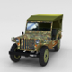 Full (w chassis) Jeep Willys MB Military Camo rev