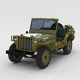 Full (w chassis) Jeep Willys MB Military rev