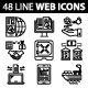 Business and Management Line Web Icons