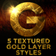 Beaten Gold Layer Styles