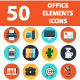 Office Elements Web Icons