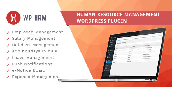 Download WP HRM - Human Resource and Finance Management WordPress Plugin nulled download