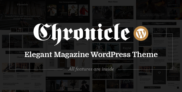 Download Chronicle - News and Magazine WordPress Theme nulled download