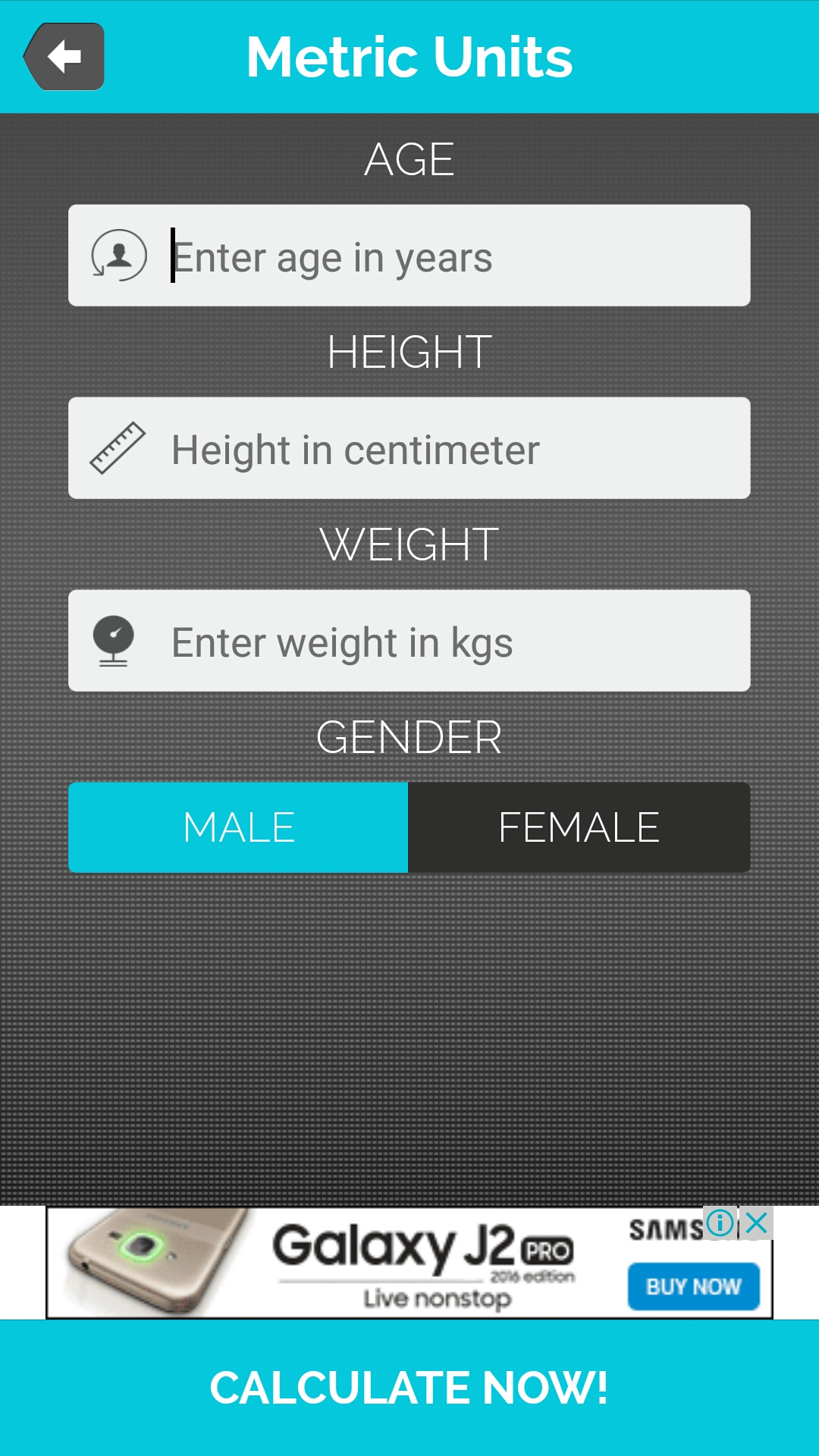Bmi Calculator For Android Full Application With Psd