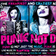Punk Not Dead Flyer Template