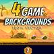 Desert Game Backgrounds